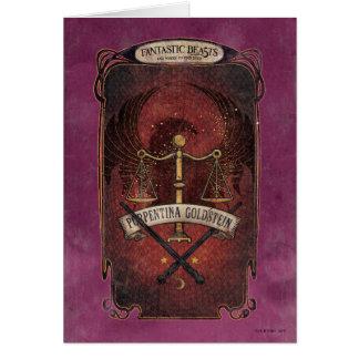 Porpentina Goldstein M.A.C.U.S.A. Graphic Greeting Card