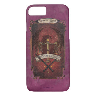 Porpentina Goldstein M.A.C.U.S.A. Graphic iPhone 8/7 Case