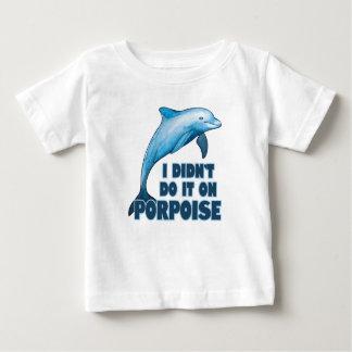 Porpoise Funny animal pun Baby T-Shirt