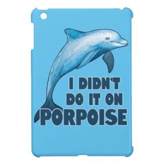 Porpoise Funny animal pun Case For The iPad Mini