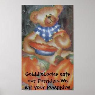 Porridge-Pumpkins Poster