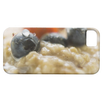Porridge with berries, close-up case for the iPhone 5