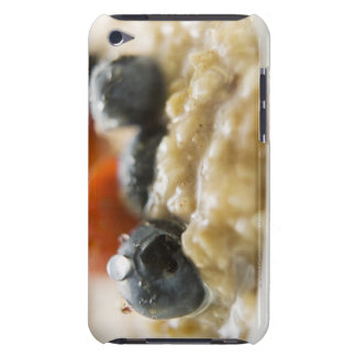 Porridge with berries, close-up iPod touch Case-Mate case
