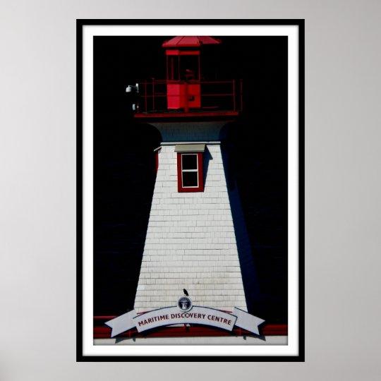 PORT ALBERNI  lighthouse poster