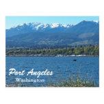 Port Angeles, Washington Travel Photo Postcard