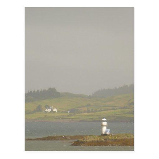 Port Appin Lighthouse Postcard