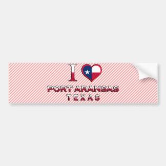 Port Aransas, Texas Bumper Sticker