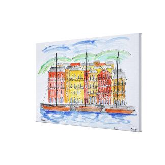 Port, Bastia | Corsica, France Canvas Print