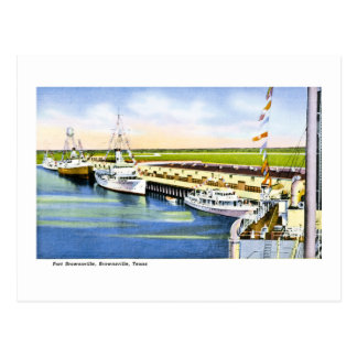 Port Brownsville, Brownsville, Texas Postcard