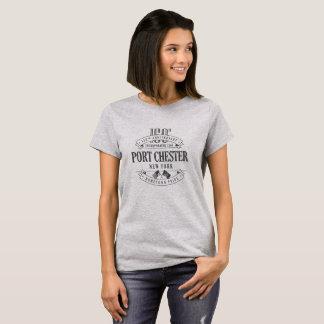 Port Chester, New York 150th Anniv. 1-Col T-Shirs T-Shirt