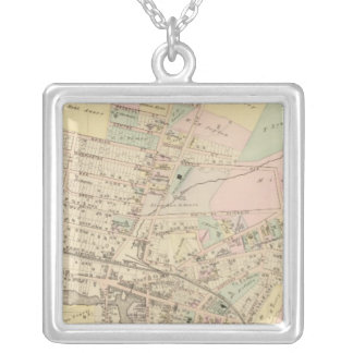 Port Chester, New York 2 Silver Plated Necklace