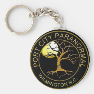 Port City Paranormal Key Ring