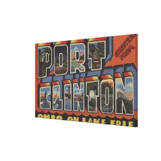 Port Clinton, Ohio - Lake Erie Canvas Print