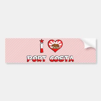 Port Costa, CA Bumper Sticker