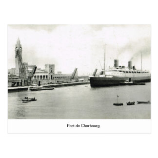 Port de Cherbourg Postcard