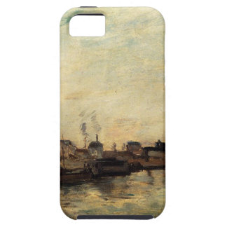 Port de Grenelle by Paul Gauguin Case For The iPhone 5