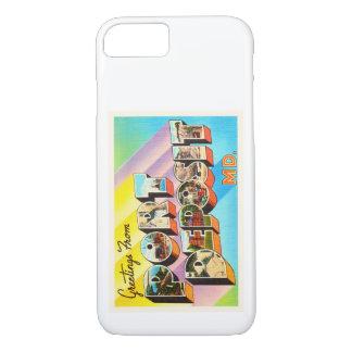 Port Deposit Maryland MD Vintage Travel Postcard- iPhone 7 Case