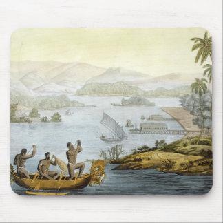 Port Dury, plate 75 from 'Le Costume Ancien et Mod Mouse Mat