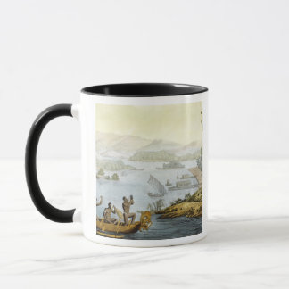 Port Dury, plate 75 from 'Le Costume Ancien et Mod Mug