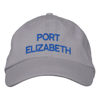 Port Elizabeth Cap Embroidered Baseball Cap