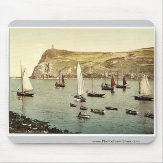 Port Erin, Bradda Head, Isle of Man, England rare Mouse Mat