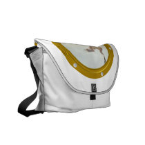 Port Hole View Rickshaw Messenger Bag