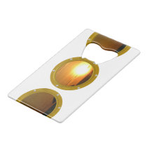 Port Hole View Template Bottle Openers