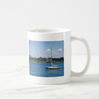 Port Huron Sailboat Coffee Mug