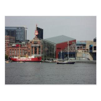 Port in Baltimore Postcard