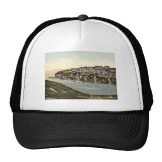 Port Isaac, looking N.E., Cornwall, England classi Hat