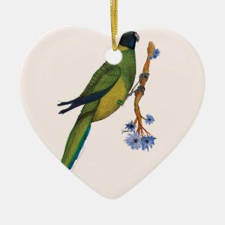 port lincoln parrot, tony fernandes christmas ornament