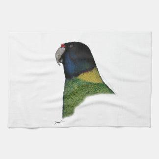 port lincoln parrot, tony fernandes tea towel