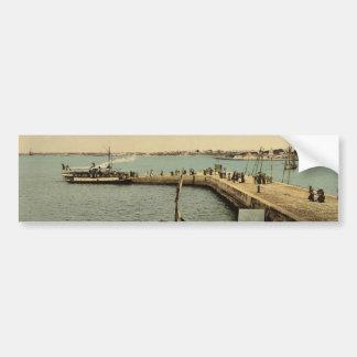 Port Louis, the Mole, Lorient, France classic Phot Bumper Sticker