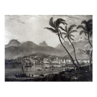 Port Louis 'Views in the Mauritius' by Postcard