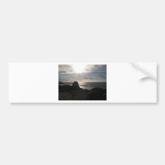 Port Lucaya, Freeport, Bahamas Sunrise Bumper Sticker