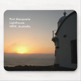 Port Macquarie Lighthouse Sunrise Mouse Mat