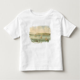 Port Mahon, Minorca, 1730's (oil on canvas) Toddler T-Shirt