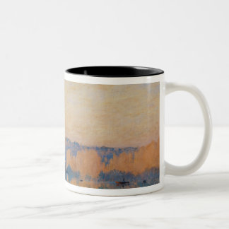 Port-Marly, White Frost, 1872 Two-Tone Coffee Mug