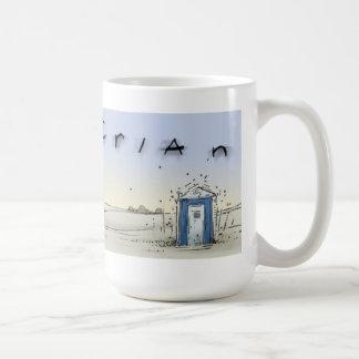 Port-o-john sunrise coffee mug