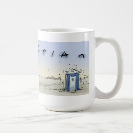 Port-o-john sunrise coffee mug