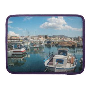 Port of Aegina island Sleeve For MacBooks