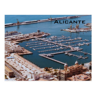 Port of Alicante Postcard