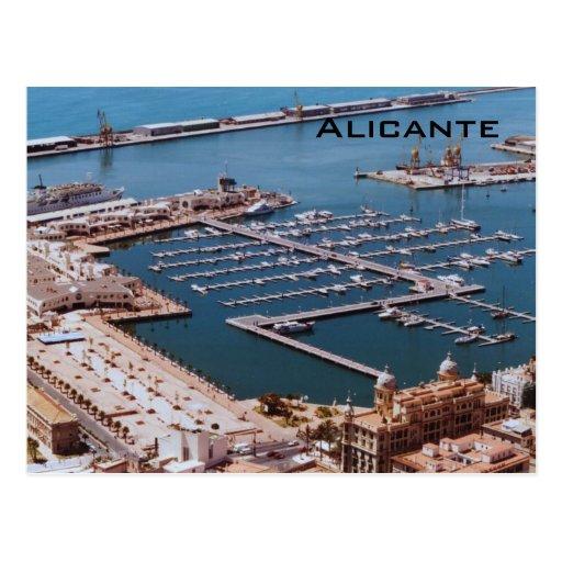 Port of Alicante Post Cards