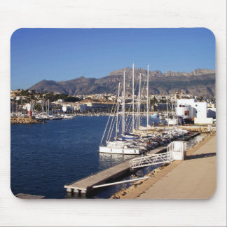Port of Altea, Spain Mouse Mat