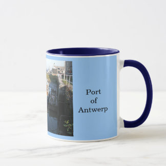 Port of Antwerp 14 Mug