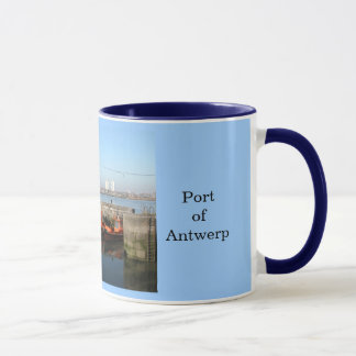 Port of Antwerp 4 Mug