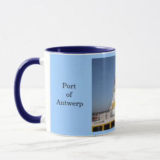 Port of Antwerp 8 Mug