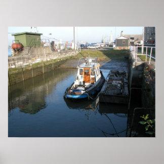 Port of Antwerp, Belgium; support vessels 13 Print