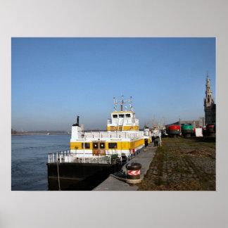 Port of Antwerp, Belgium; support vessels 6 Print