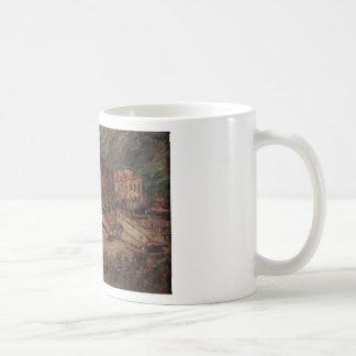 Port of Cassis by Adolphe Joseph Thomas Monticelli Basic White Mug